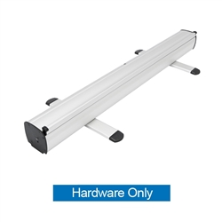 33.5 in. Mozzie Roll Up - 80inh Super Flat Vinyl Retractable Banner Stand Hardware Only. This  Retractable Banner Stand Display has a unique look at an affordable price.