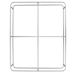 8ft x 10ft Wallbox Tension Fabric Display | Tubing Hardware Only