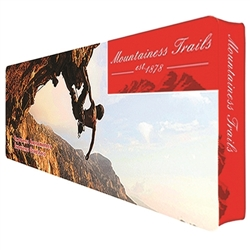 20ft x 8ft Wallbox Single-Sided Display Graphic Package with Black Back. We offer Portable Displays Wallbox 8ft,Wallbox 10ft, Wallbox 15ft, Wallbox 20ft. Back wall booth displays offer a variety of options for customizing your trade show booth.