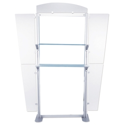6ft Tahoe Twistlock Rack Backwall Display Hardware . Twistlock Tahoe is a modular backwall display booth that is fully customizable. Twistlock Tahoe Modular Display Portable System is available in a number of configurations- perfect back wall display