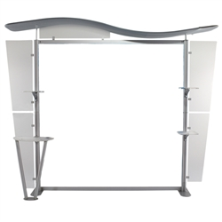 10ft Tahoe Twistlock X Modular Backwall Display Frame Only. Twistlock Tahoe is a modular backwall display booth is fully customizable. Twistlock Tahoe Modular Display Portable System is available in a number of configurations- perfect back wall display