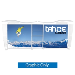 20ft Tahoe Twistlock Z Modular Backwall Display Graphic Only. Twistlock Tahoe is a modular backwall display booth is fully customizable. Twistlock Tahoe Modular Display Portable System is available in number of configurations- perfect backwall display
