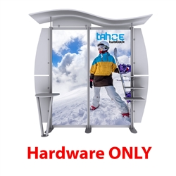 10ft Tahoe Twistlock W Modular Backwall Display Hardware Only. Twistlock Tahoe is a modular backwall display booth is fully customizable. Twistlock Tahoe Modular Display Portable System is available in number of configurations- perfect backwall display
