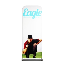 24in x 78in EZ EXTEND Single Sided Graphic Package are perfect for displaying at any event. EZ EXTEND Fabric banner stands features one of the most unique designs on the market. Banner stands look great as an addition to portable display or exhibit