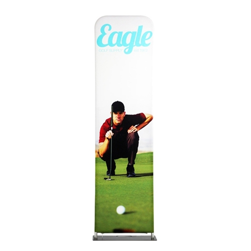 24in X 138in Ez Tube Extend Single Sided Tension Fabric Banner Stand