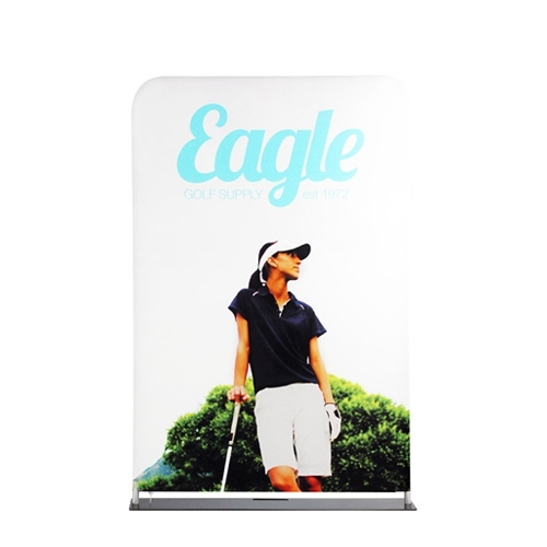 48in X 90in Ez Tube Extend Single Sided Tension Fabric Banner Stand