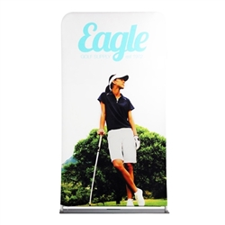 48in x 138in EZ EXTEND Double Sided Graphic Package are perfect for displaying at any event. EZ EXTEND Fabric banner stands features one of the most unique designs on the market. Banner stands look great as an addition to portable display or exhibit