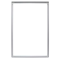 2ft x 3ft Aspen Slim Fabric Frame  (Frame Only) a classic in the Resort Extrusion collection. Aspen SEG Fabric Frame can be use in  Retail Stores, Malls, Kiosks, Restaurants, Art Galleries, Grand Openings, Trade Shows, Offices, Showrooms