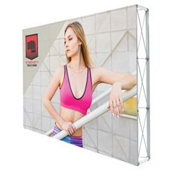 10ft X 7.5ft Lumiere Light Wall Display Double-Sided - No Lights (Graphic Package). A combination of innovative silicone-edge graphics and RPL fabric pop ups offers an easier and more cost effective SEG option.