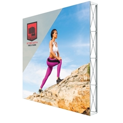 10ft X 10ft Lumiere Light Wall Display Single-Sided - No Lights (Graphic Package). A combination of innovative silicone-edge graphics and RPL fabric pop ups offers an easier and more cost effective SEG option.