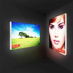 5ft x 4ft Single-Sided Wall Mounted Display.