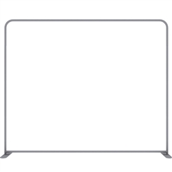10ft EZ Tube Connect Straight Top Single-Sided Display (Hardware Only)