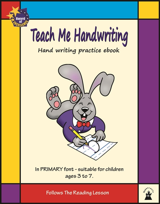 Teach Me Handwriting eBook