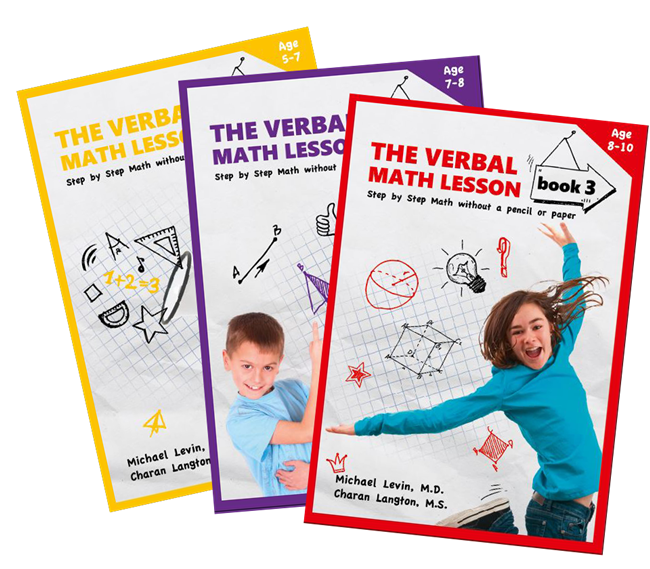 Verbal Math Lesson Book eBook set