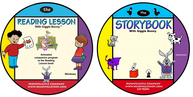 Giggle Bunny's Reading Lesson and the StoryBook interactive program set (Downloads)