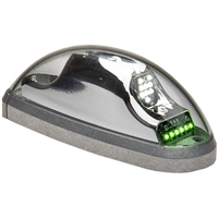 Whelen Orion 600 Series 01-0771733-01 Model OR6001G Green LED 14V Position Anti-Collision Light Assembly