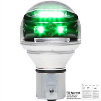 Whelen Chroma Series 01-0771900G14 Model CHROMA1G Green LED 14V Plug & Play Position Lights