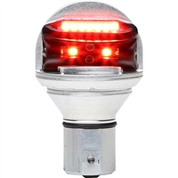 Whelen Chroma Series 01-0771900-R2 Model CHROMA2R Red LED 28V Plug & Play Position Lights