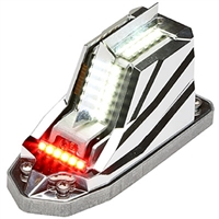 Whelen Orion 650E Series 01-0790701-02 Model OR6501RE Red LED 14V Position Anti-Collision Light Assembly