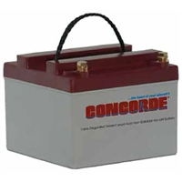 Concorde RG24-10 24V Aircraft Battery
