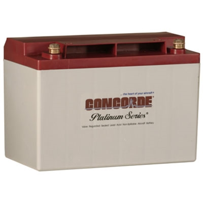 Concorde RG-35AXC 12V Aircraft Battery