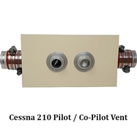 Cessna 210 Fresh Air Vent Kit System W210-100