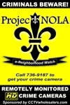 Please click here to have your existing crime camera transferred to a new ProjectNOLA cloud server for only $96/year. Thanks for allowing us the continued opportunity to help make your neighborhood a safer place to live, work and visit!