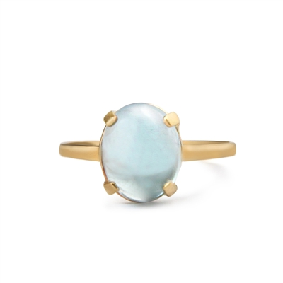 Prong Set Gemstone 14k Gold Filled Ring + MORE COLORS