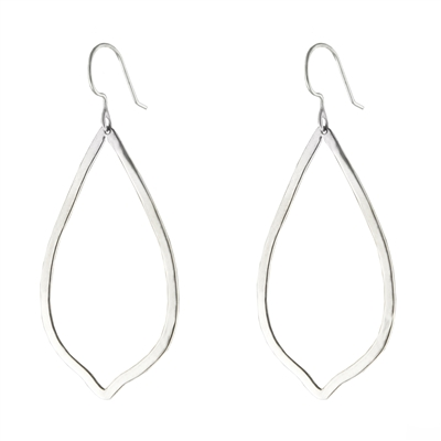 Sterling Raindrop Earrings