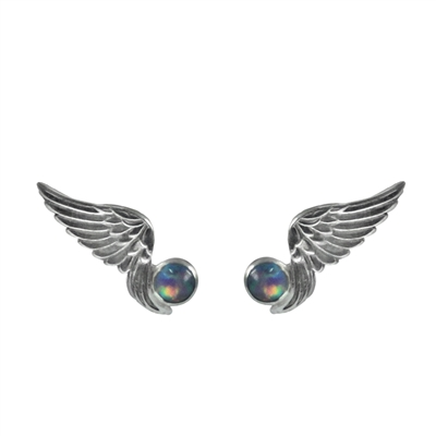 Tiny Wings and Gemstone Post Earrings + MORE COLORS