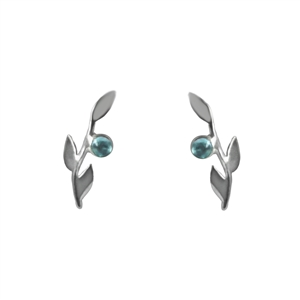 Tiny Branches and Gemstone Post Earrings + MORE COLORS