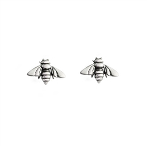 Tiny Bee Post Earrings