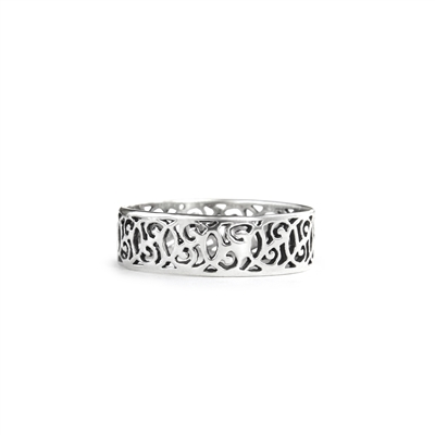 Infinity Filigree Ring