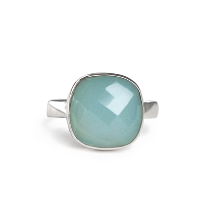 Top Faceted Cushion Ring + MORE COLORS