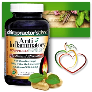 Natural Anti-Inflammatory Advanced EXL9!</br> A Natural Alternative!