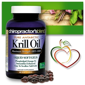 Pure Antarctic Krill Oil AKO-1000<br>Liquid Soft Gels<br>NEW PRODUCT!