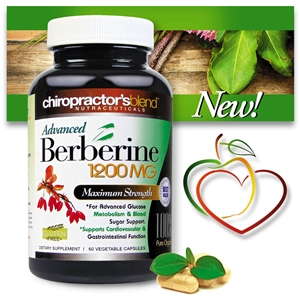 <strong>New!! Advanced Berberine<br><i>Maximum Strength 1200mg per Serving</strong><br></i>