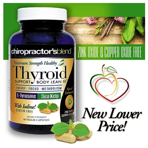 "Thyroid Support - Body Lean XL Maximum Strength!â""¢"