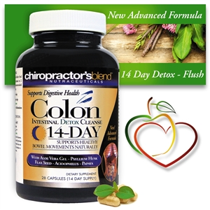 <strong>14-day Colon Intestinal Detox Cleanse 3-in-1</strong><br>Digestive Tract Detox