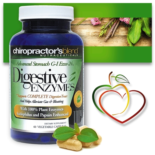 GI-Digestive Enzymes G-I Ezze-24 Advanced<br>With Herbs & Enzymes for Digestive Support<br>Monthly Auto-Ship Advantage