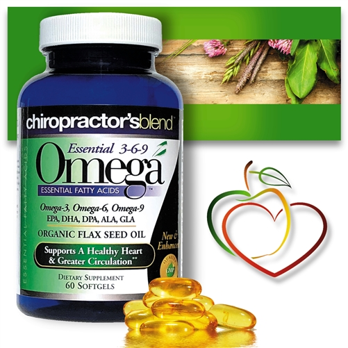 Essential 3-6-9 Omega Blend<br>with EPA, DHA, DPA, ALA and GLA