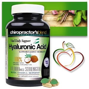 <strong>New!! Hyaluronic Acid with Vitamin A!<strong><i><br>with Pure Coconut Oil </strong><br>