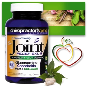 Joint Relief EXL2<br>Natural Arthritis & Joint Support Formula