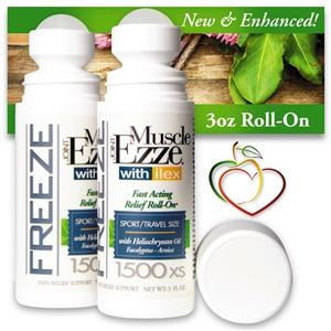 Joint & Muscle Ezze Relief EXL 2 Roll-On<br>Fast Acting Topical Soothing Analgesic