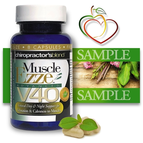 Muscle Ezze V40 Advanced Natural Stress Formula<br>FREE SAMPLE SIZE