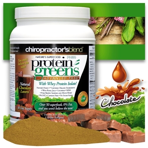 "<STRONG>""THE ORIGINAL"" PH50 Protein Greens Advanced!</strong><br><i><strong>NEW NATURAL CHOCOLATE LOVERS Flavor</strong><br>Over 50 superfoods, 67 calories, 0% Fat!</i>"