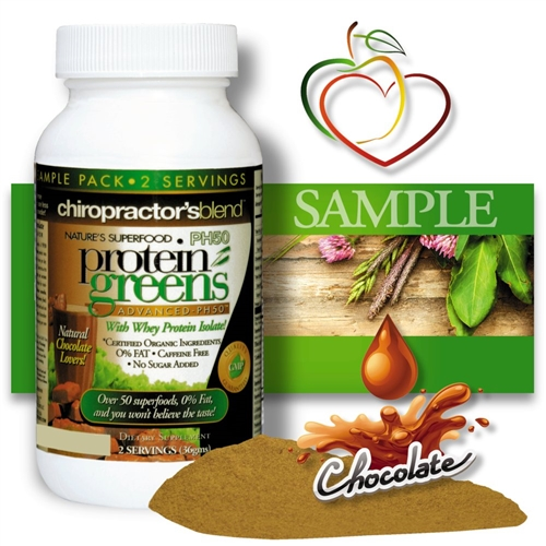 "<strong>""The Original"" PH50 Protein Greens Advanced</strong><br><i>Natural Chocolate Flavor </i><br>FREE SAMPLE SIZE"