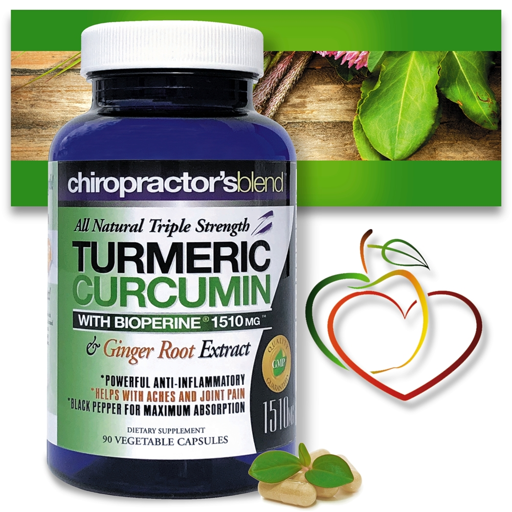 All Natural Triple Strength Turmeric Curcumin With