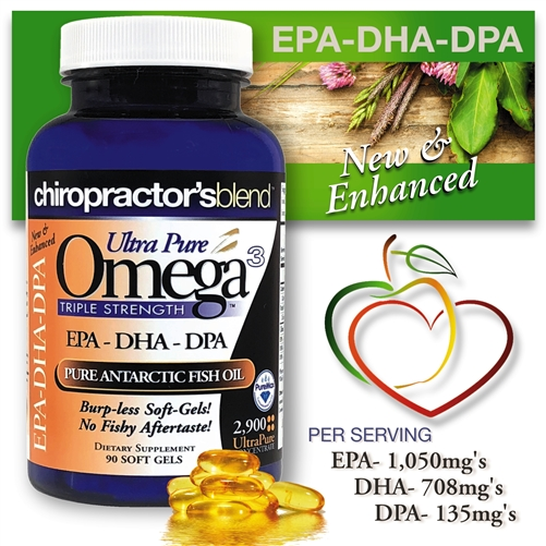 <strong>Ultra Pure Omega-3 2900 Fish Oil! </strong><br><i>New and Enhanced </i><br><strong><i>With EPA-DHA-DPA!</strong><br>Monthly Auto-Ship Advantage</i>