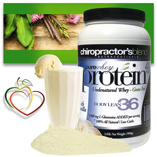 <strong>Pure Whey Protein Body Lean 36!</strong><br><i>French Vanilla Flavor!</i>